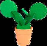 Ref. 2514 Cactus 6 posavasos madera