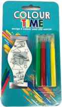 Ref. 8711 Reloj led colorear surtido