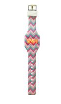 Reloj led silicona niña rosa Ref. 8678