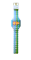 Reloj led silicona niño azul Ref. 8677
