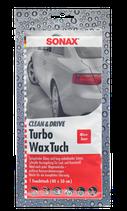 Sonax Clean & Drive Turbo  Wachs Tuch