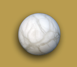 Alabasterkugel, Größe ca.10 cm