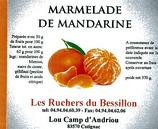 Marmelade de mandarine 370 g.