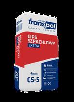 Franspol GS-5 - Spachtelgips Extra - 20 kg