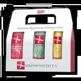 Duschgel Douglasie / Pflegelotion Rosenmelisse / Handcreme Melisse
