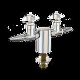 L2800-132SWSA-TL Válvula doble de agua pura, montada en panel