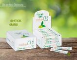 Blattpulver-Sticks nur Blattpulver  1 Gramm