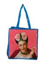 "Frida-Einkaufstasche aus recycletem Kunststoff ""SKY BLUE FRIDISMO"""