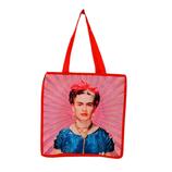 """Frida-Einkaufstasche aus recycletem Kunststoff """"BRIGHT ORANGE"""""""