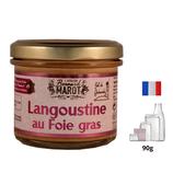 Langoustine au foie gras 100g