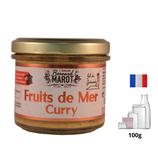 Fruits de Mer (moules) au Curry 100g