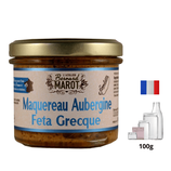 Maquereau Aubergine Feta Grecque 100g
