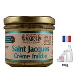 Saint Jacques Crème Fraîche  100g