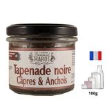 Tapenade Noire Câpres & Anchois 100g