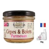 Champignons Cèpes & Bolets Parmesan 100g