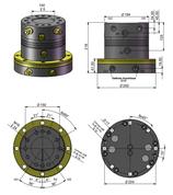 AVS Rotator Doppelflansch ARB 60-5