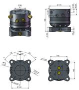 AVS Rotator Doppelflansch ARG 50-2.3