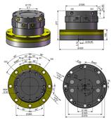 AVS Rotator Doppelflansch ARB 200-1