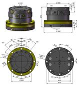 AVS Rotator Doppelflansch ARB 150-2
