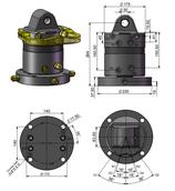 AVS Rotator mit Drehdurchführung ARG 50-2DD