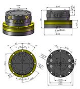 AVS Rotator Doppelflansch ARB 80-1