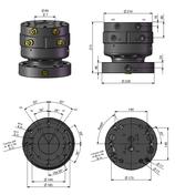 AVS Rotator Doppelflansch ARH 70-2.1