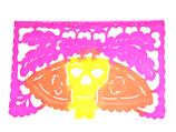 Papel Picado Pintado - Muertos