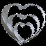 Herzbackrahmen, 3tlg.