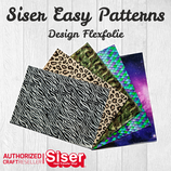SISER EasyPatterns® Design Flexfolie 21x30cm