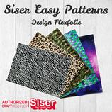 SISER EasyPatterns® Design Flexfolie 30x30cm