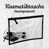 Kosmetiktasche transparent