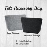Felt Accessoiry Bag Größe M