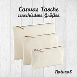 Canvas Tasche natural