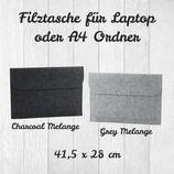 Filztasche für Laptop oder A4 Ordner