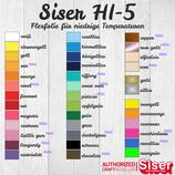 Flexfolie Siser HI-5 Meterware 30cm Breite