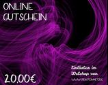 Digitaler Onlineshop-Gutschein im Wert von 20,00€