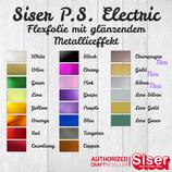 Flexfolie Siser Electric Effekt-Flex 30x30cm