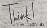 Plotterdatei 'Think'
