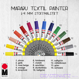 Marabu Textil Painter 2-4mm