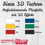 Siser 3D Techno Flexfolie 30x30cm