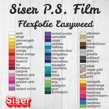 Flexfolie Poli-Flex Premium und Siser P.S. Film 20x DIN A4
