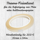 Thermo-Fixierband 10mm x 66m