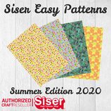SISER EasyPatterns® Summer Time Design Flexfolie 30x30cm