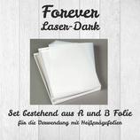 Forever Laser Dark Low Temp (No-Cut) A-Foil + B-Foil Set- DIN A4