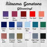 Vinylfolie mit Glitzereffekt Ritrama Gemstone Meterware 30cm Breite