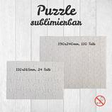 Puzzle für Sublimation