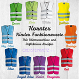 Korntex Kinder Funktionsweste Gr. S (7-12 Jahre)