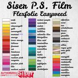 Flexfolie Poli-Flex Premium und Siser P.S. Film 10x DIN A4