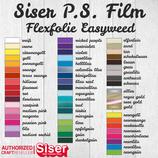 Flexfolie Siser P.S. Film 30x30cm