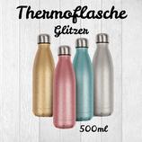Glitzer Thermoflasche Spark